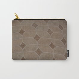 fibric pattern Carry-All Pouch