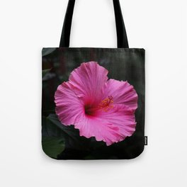 Hibiscus at Eden Project Tote Bag