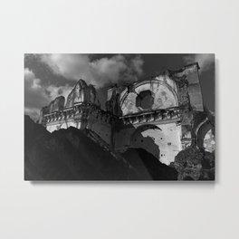 Last Wall Standing Metal Print