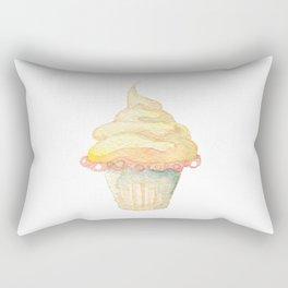 Ice Cream Yellow Rectangular Pillow