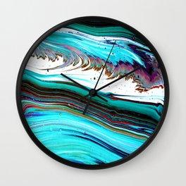 BlueWave Wall Clock