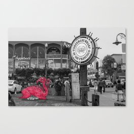 Unseen Monsters of San Francisco - Linne Stickles Canvas Print