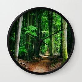 A Fairytale Forest IIII Wall Clock