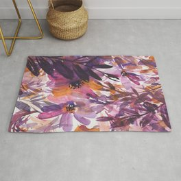 lilac forest Rug