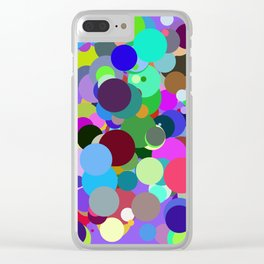 Circles #1 - 03062017 Clear iPhone Case