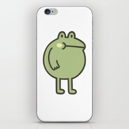 Awesome Frog iPhone Skin