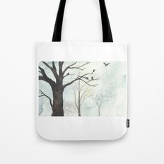 Birds of Winter Tote Bag