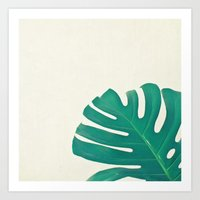 Monstera II Art Print