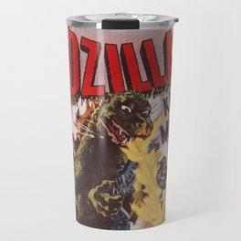 Godzilla rampage Travel Mug