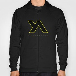 Youth Alive Yellow & Black on Black Hoody