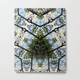 Natural Pattern No 1 Metal Print
