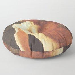 A Male Torso by Jean-Auguste-Dominique Ingres Floor Pillow
