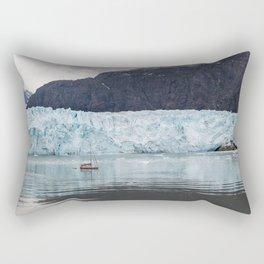 Margerie Glacier Rectangular Pillow