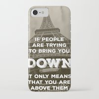 eiffel tower iPhone & iPod Cases featuring Eiffel tower by Solar Designs
