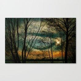 Nature lake Canvas Print