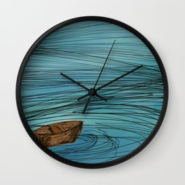 In the Midst of the storm Wall Clock