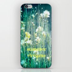Summer Dreams iPhone & iPod Skin