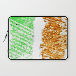 flag of ireland 10 -ireland,eire,airlann,irish,gaelic,eriu,celtic,dublin,belfast,joyce,beckett Laptop Sleeve