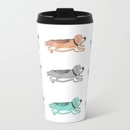 Colorful Beagles Travel Mug