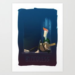 Bloodless Art Print