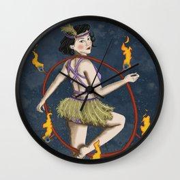 Miss Eris Wall Clock