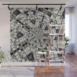 mosaic spiral Wall Mural