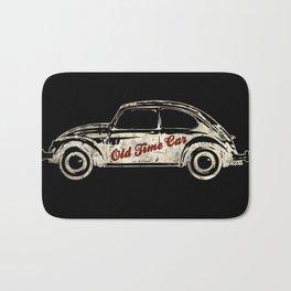 "Old Time Car ""Beetle"" Bath Mat"