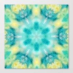 watercolor tie dye Canvas Print