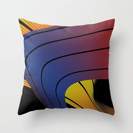 whip or will Throw Pillow
