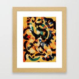 Pattern № 64 Framed Art Print