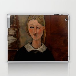 "Amedeo Modigliani ""The Pretty Housewife (La Jolie ménagère)"" Laptop & iPad Skin"
