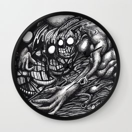 Grendel Mother Dream Wall Clock