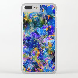 Pacific Kelp Forest Clear iPhone Case