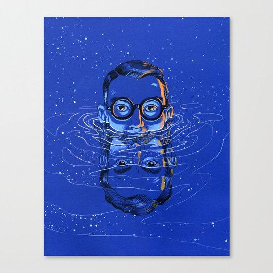 Del Close / Del Close Canvas Print