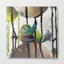 snotty pompbird Metal Print