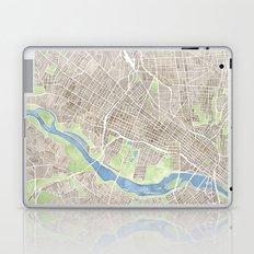 Richmond Virginia City Map Laptop & iPad Skin