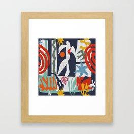 Inspired to Matisse Framed Art Print