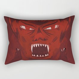 Dracula Rectangular Pillow