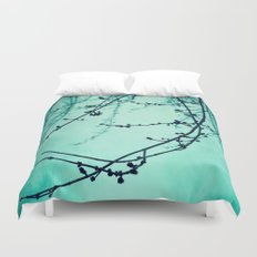 Fog of Green Duvet Cover