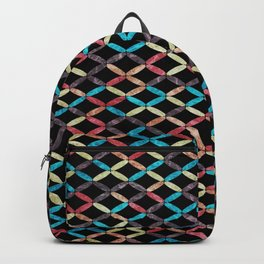 Colorful Geometric Pattern #03 Backpack