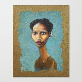 Portrait of Ayaan Hirsi Ali Canvas Print