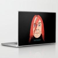 iggy Laptop & iPad Skins featuring Iggy Stardust by Chris Piascik