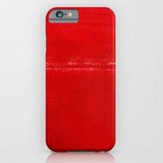 Mark Rothko Christmas Red Abstract, Daugavpils, Latvia Slim Case iPhone 6s