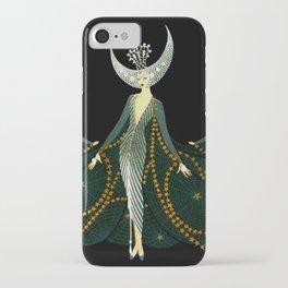 """Art Deco Design """"Queen of the Night"""" iPhone Case"""