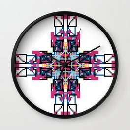 Southwest Vibe Festival Style Wall Clock