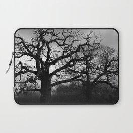 Eerie winter trees Laptop Sleeve