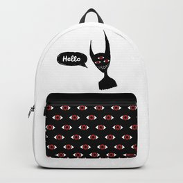 Hello darkness Backpack