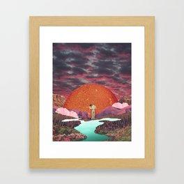 Love times infinity Framed Art Print