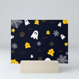Scaredy Ghost Mini Art Print