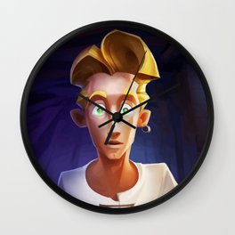 Guybrush Threepwood Wall Clock